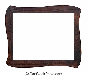 Wooden photo frame handmade
