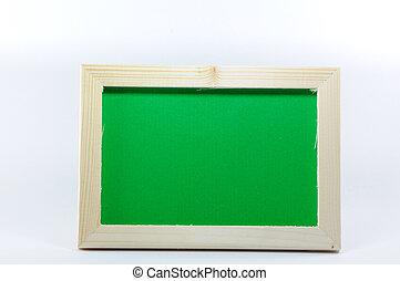 Wooden photo frame, horizon style