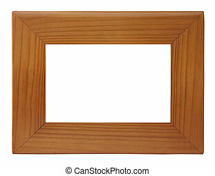 wooden photo frame modern