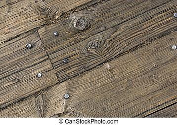 Wooden Pier Planks