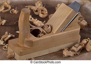 Wooden plane