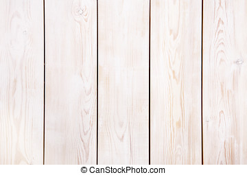 Wooden plank background painted with white paint.