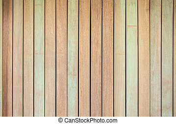 Wooden planks wall texture abstract for background.