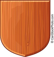 wooden plaque (wooden shield, wooden sign boards)