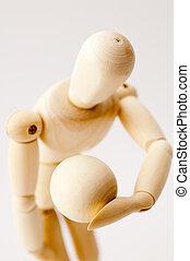 Wooden Posing Dummy