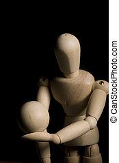 Wooden Posing Model