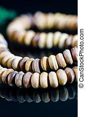 wooden praying beads II
