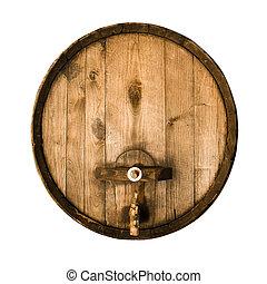 wooden puskacső, öreg