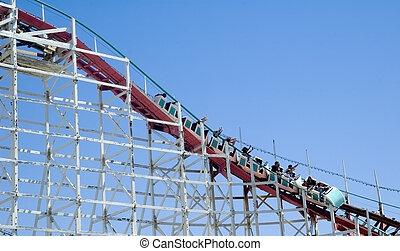 Roller coaster - Wooden Roller coaster
