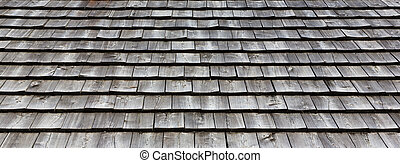 wooden roof tile texture