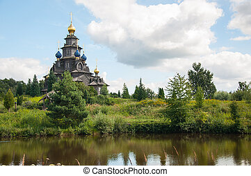 Wooden Russian church