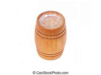 Wooden saltcellar