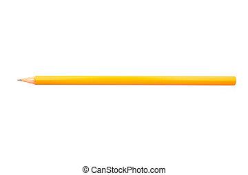 Wooden sharp pencil
