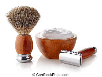 Wooden shaving accessories