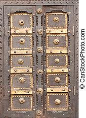 Wooden shutter frame
