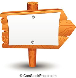 Sign Post Wooden House Shape Symbol Sign Posts Wooden House