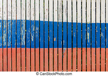 Russian flag texture