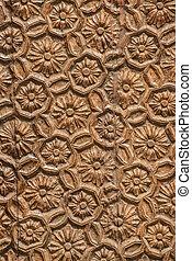 Wooden surface closeup