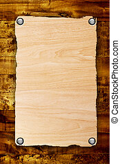 Wooden surface over wood background. Blank illustration