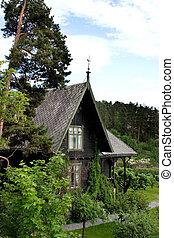 Wooden Swiss Villa
