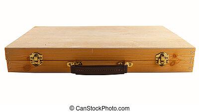 wooden táska