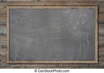 Wooden texture background, blackboard ( chalkboard )...