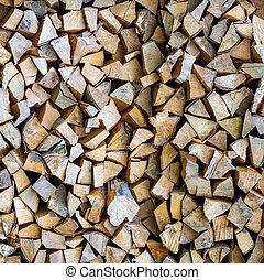 Wooden texture background broun firewood
