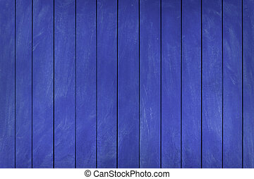 Wooden texture blue background. copy space
