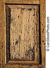 Wooden texture of a window