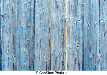 Wooden texture of blue color as background