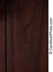 Wooden texture of fine food painted with brown paint