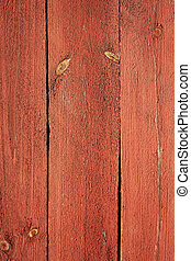 Wooden texture of red color