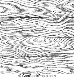 Wooden texture painted by hand in black ink on paper