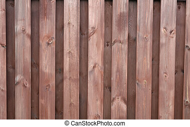Wooden texture painted with brown paint fence