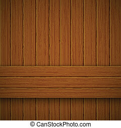Wooden texture. Vector illustration