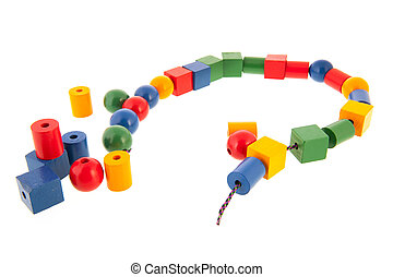 wooden toy chain