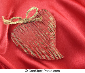 Wooden Valentine Heart