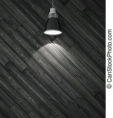 wooden wall and ceiling lamp