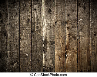 Wooden wall background - Vintage wooden wall background with...