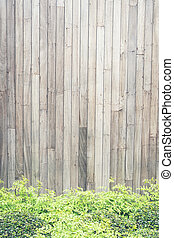 wooden wall background, vintage old wood