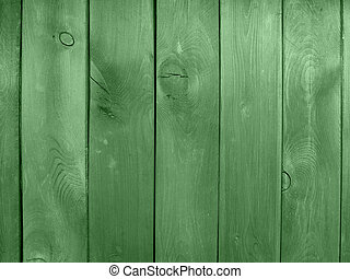 wooden wall green