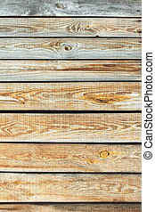 Wooden wall texture, gray unpainted