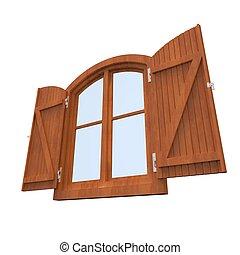Wooden Window 1