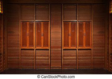 wooden windows texture
