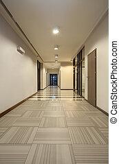 Woodland hotel - corridor - Woodland hotel - empty corridor...