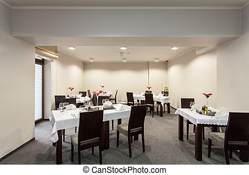 Woodland hotel - restaurant room - Woodland hotel - small...