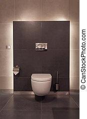 Woodland hotel - Toilet - Woodland hotel - Modern toilet in...