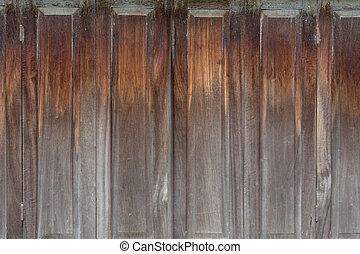 Wood,Old wooden door