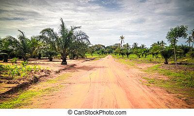 woodoo Village of Ewe aka Gen people . Anfoin, Togo - woodoo...