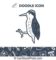 woodpecker doodle